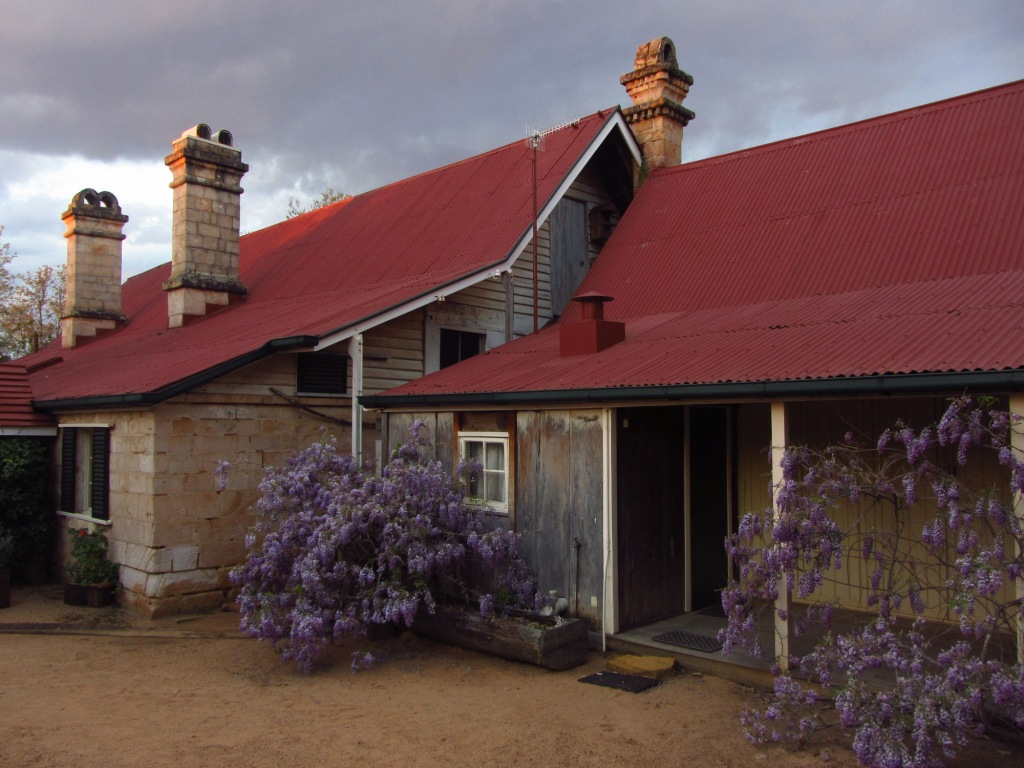Taabinga Homestead at dusk