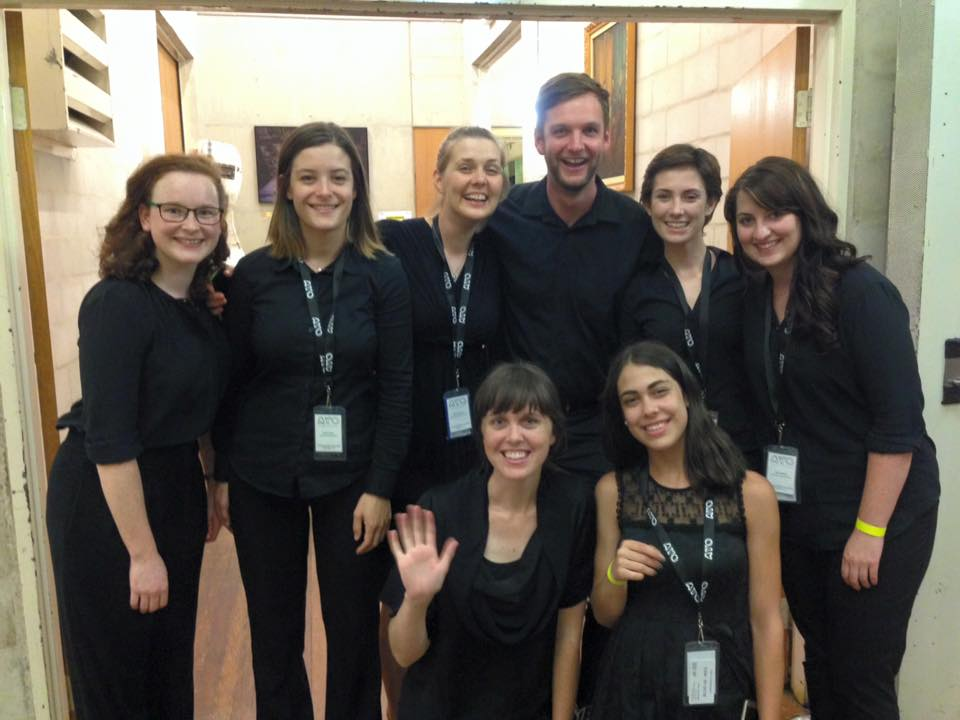 The 2016 Orchestral Management class at Australian Youth Orchestra's National Music Camp.  Photo - Elissa Seed