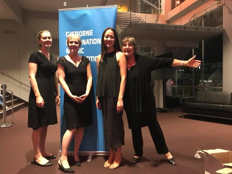L-R: Maree Kilpatrick, Sarah Watkins, Somi Kim, Rosemary Barnes