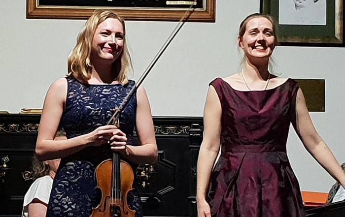 'Dark Romance' Concert, with violinist Annabelle Swainston at Waiheke Island Musical Museum